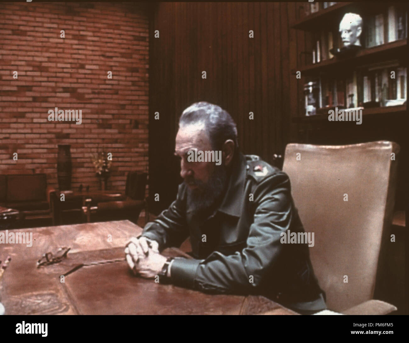 Film Still / Publicity Still from 'Commandante' Fidel Castro © 2003 HBO  File Reference # 30753854THA  For Editorial Use Only -  All Rights Reserved - Stock Image