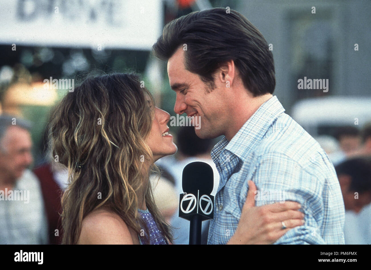 Film Still Publicity Still From Bruce Almighty Jennifer Aniston Jim Carrey 2003 Universal Photo Credit Ralph Nelson File Reference 30753871tha For Editorial Use Only All Rights Reserved Stock Photo Alamy