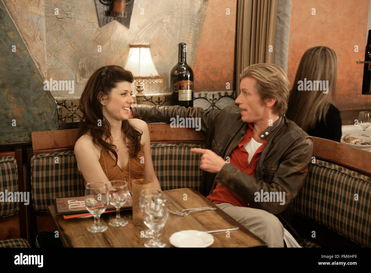 Film Still from 'Rescue Me'   Marisa Tomei, Denis Leary 2007 - Stock Image