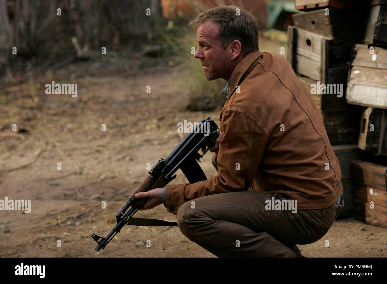 Film Still from '24: Redemption'  Kiefer Sutherland 2008 - Stock Image