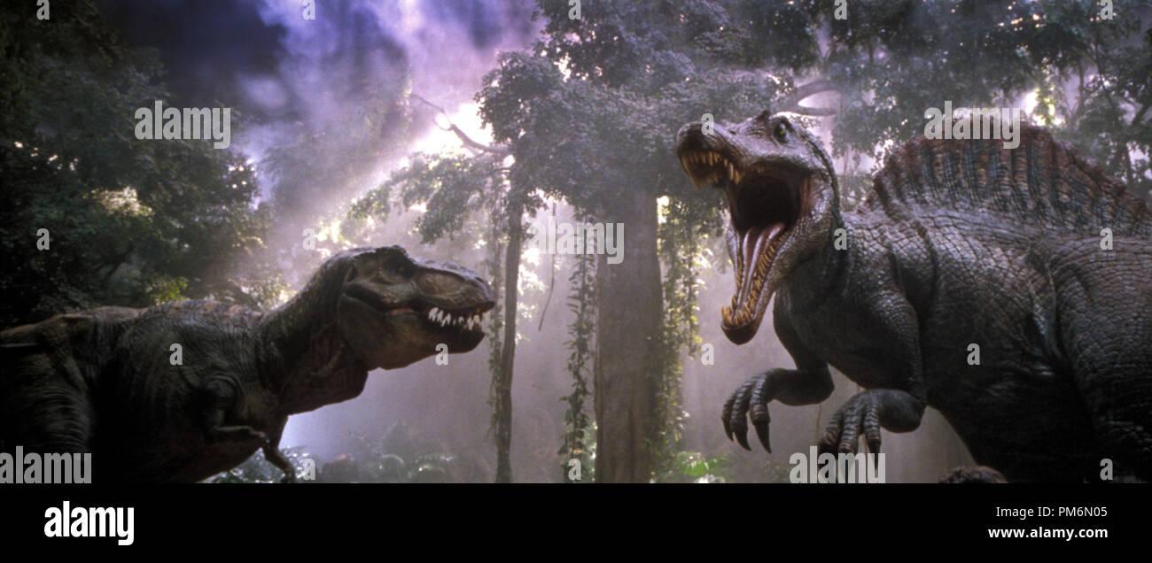 Film Still Publicity Still From Jurassic Park 3 Dinosaurs C 2001