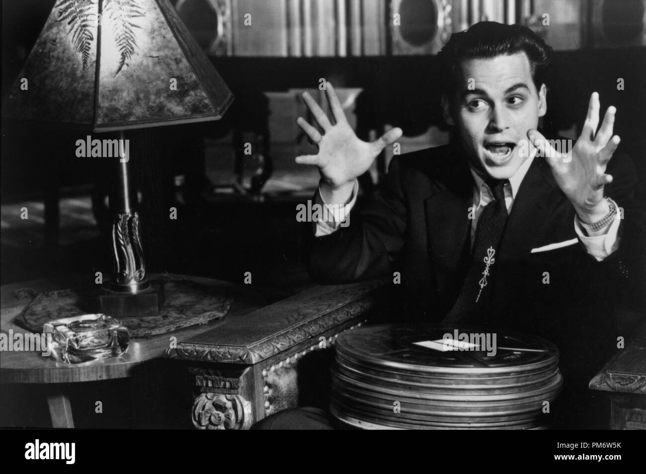 Film Still from 'Ed Wood' Johnny Depp © 1994 Touchstone Photo Credit: Suzanne Tenner - Stock Image