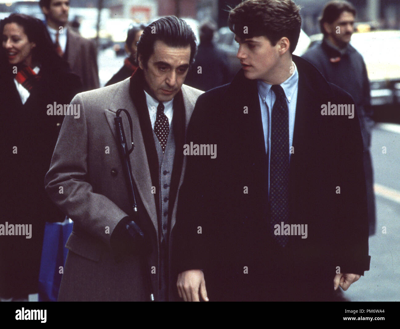 Film Still From Scent Of A Woman Al Pacino And Chris O Donnell C 1992 Universal Photo Credit M Aronowitz Stock Photo Alamy
