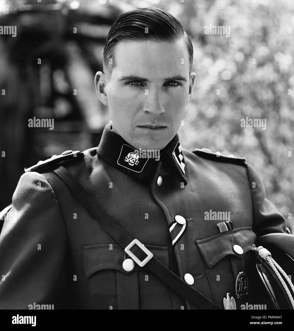 Film Still from 'Schindler's List' Ralph Fiennes © 1993 Universal Photo Credit: David James - Stock Image