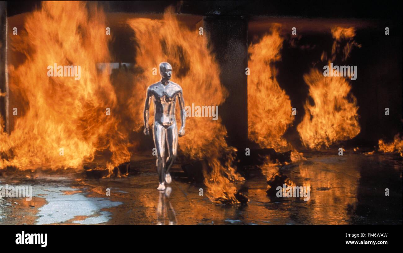 Film Still from 'Terminator 2: Judgment Day' Scene Still © 1991 Carolco - Stock Image