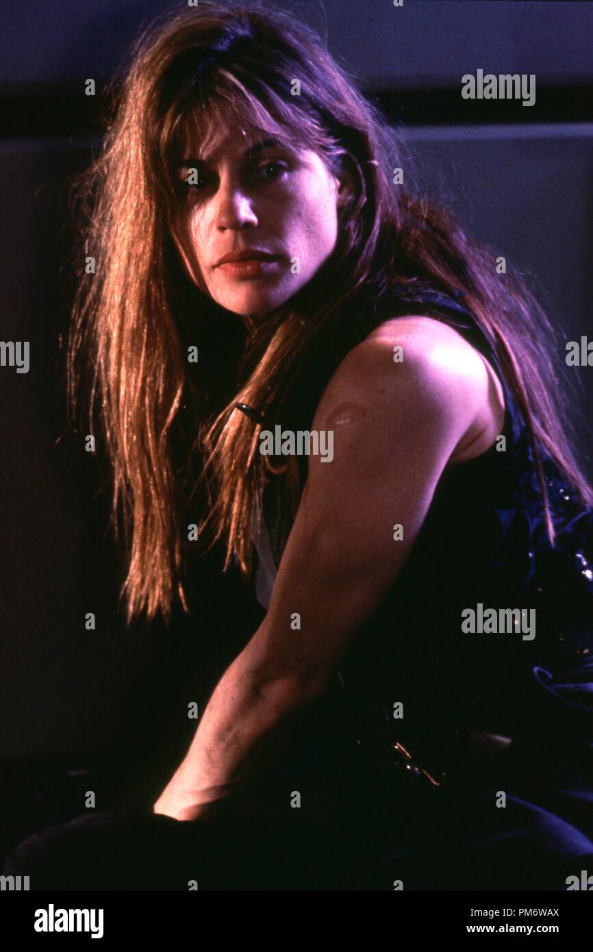 Film Still from 'Terminator 2: Judgment Day' Linda Hamilton © 1991 Carolco Photo Credit: Zade Rosenthal - Stock Image