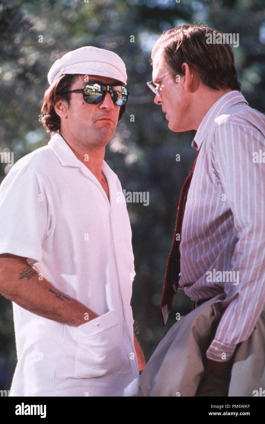"""Film Still from """"Cape Fear"""" Robert De Niro, Nick Nolte © 1991 Universal Photo Credit: Phillip Caruso Stock Photo"""