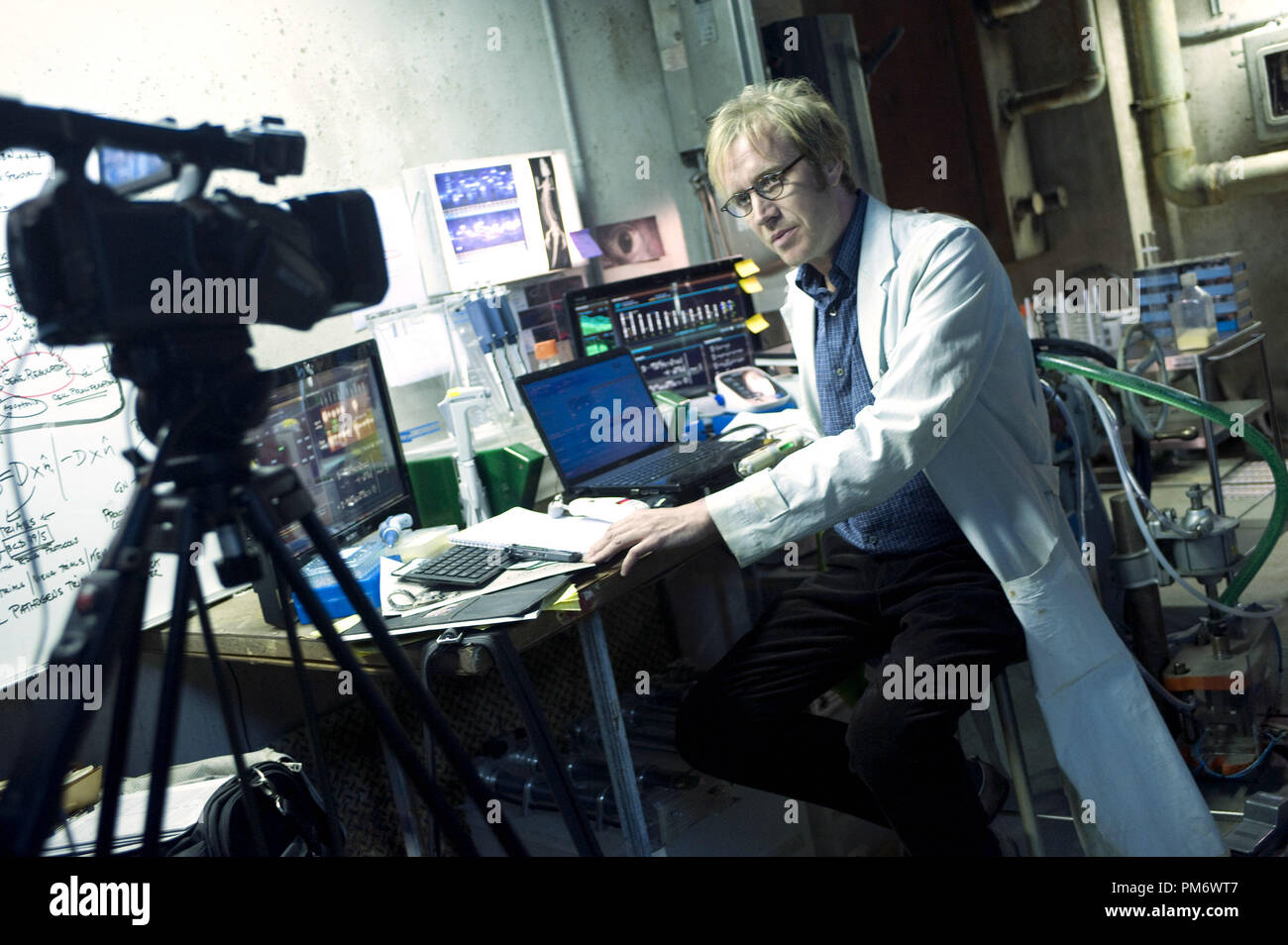 Rhys Ifans in, 'The Amazing Spider-Man' - Stock Image