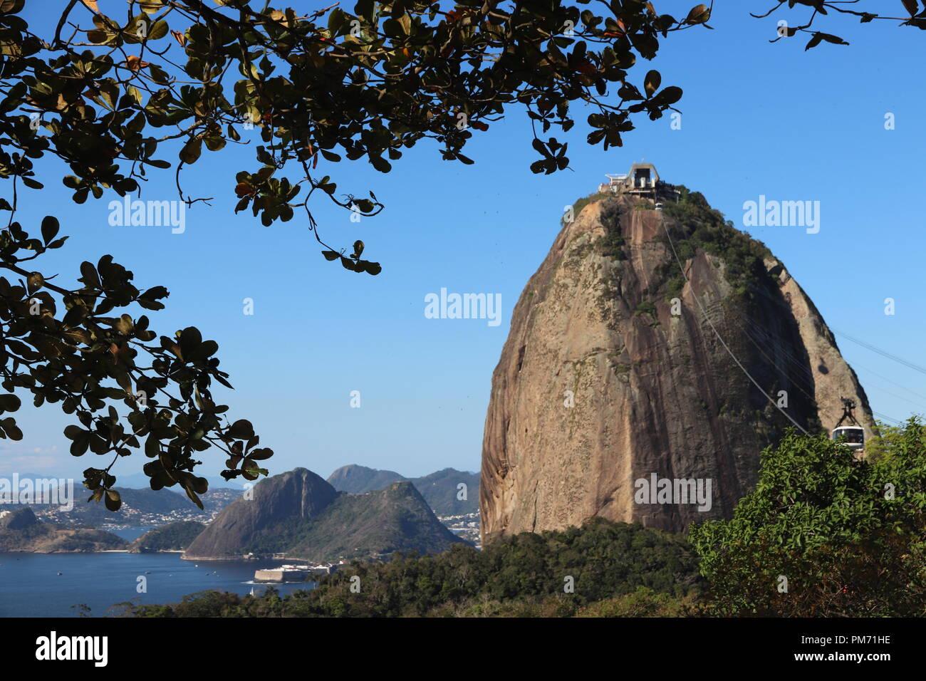 Pao de Acucar - Rio de Janeiro ( Brazil ) Stock Photo