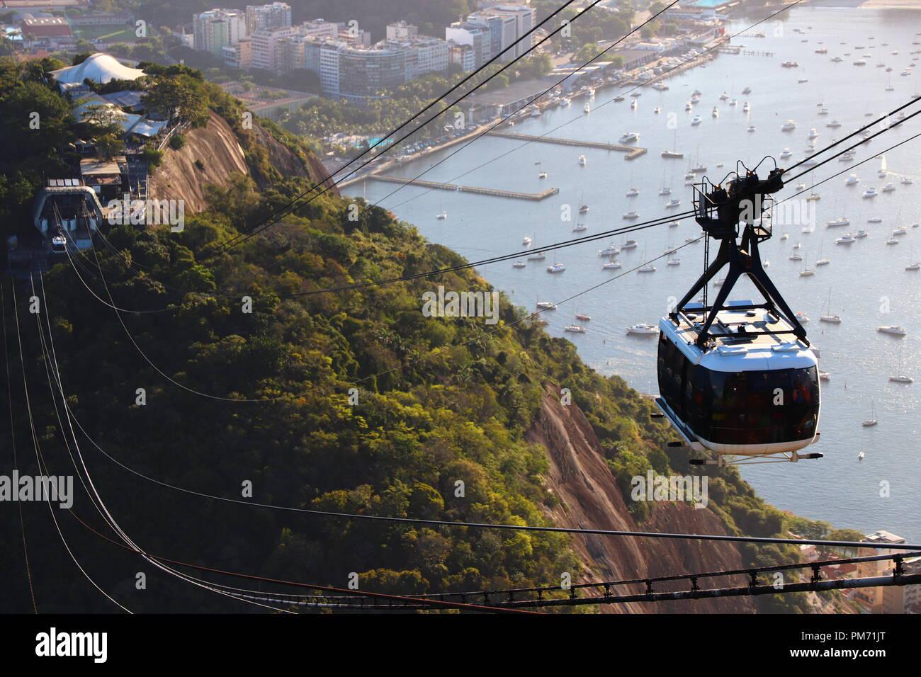 Pao de Acucar - Rio de Janeiro ( Brazil ) - Stock Image