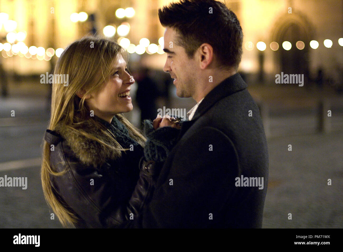 Film Still from 'In Bruges' Clemence Poesy, Colin Farrell © 2008 Focus Features Photo credit: Jaap Buitendijk  File Reference # 30755250THA  For Editorial Use Only -  All Rights Reserved - Stock Image