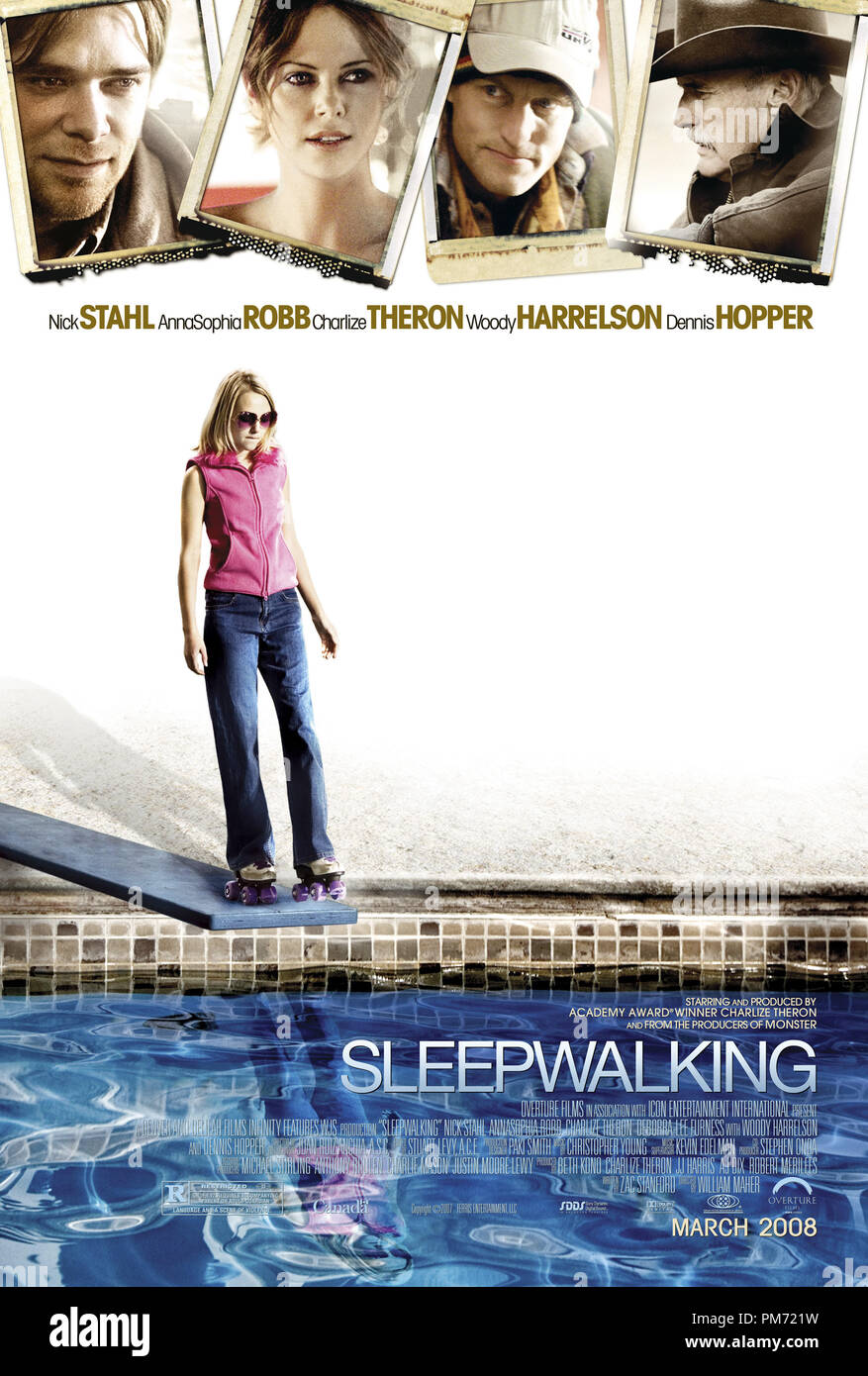 'Sleepwalking' Poster © 2008 Overture Films  File Reference # 30755326THA  For Editorial Use Only -  All Rights Reserved - Stock Image