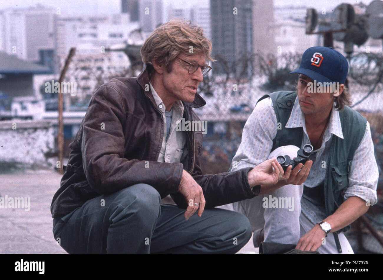 Redford Brad Pitt Spy Game High Resolution Stock Photography And Images Alamy