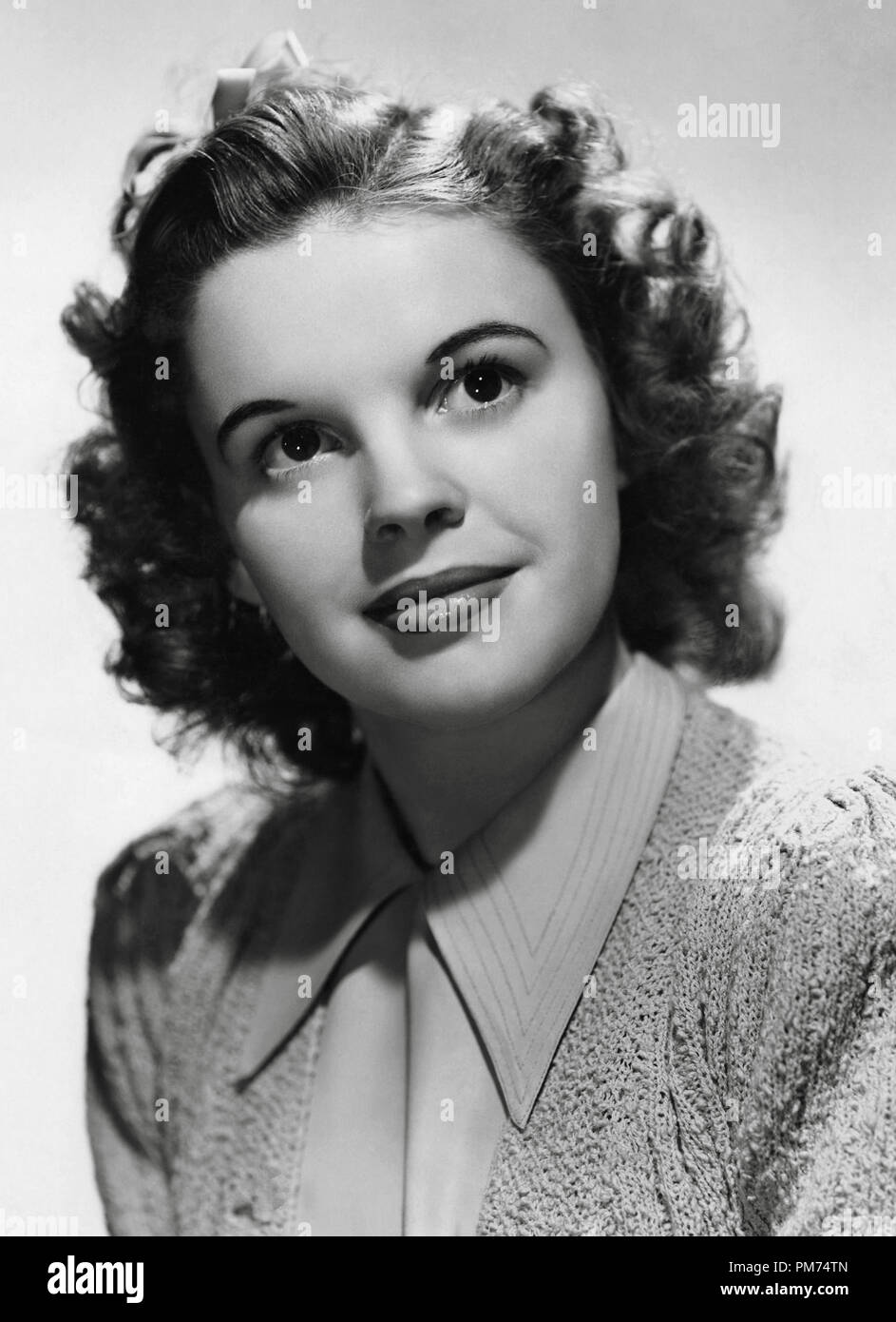 Judy Garland Circa 1940 File Reference 30928 177tha Stock Photo Alamy