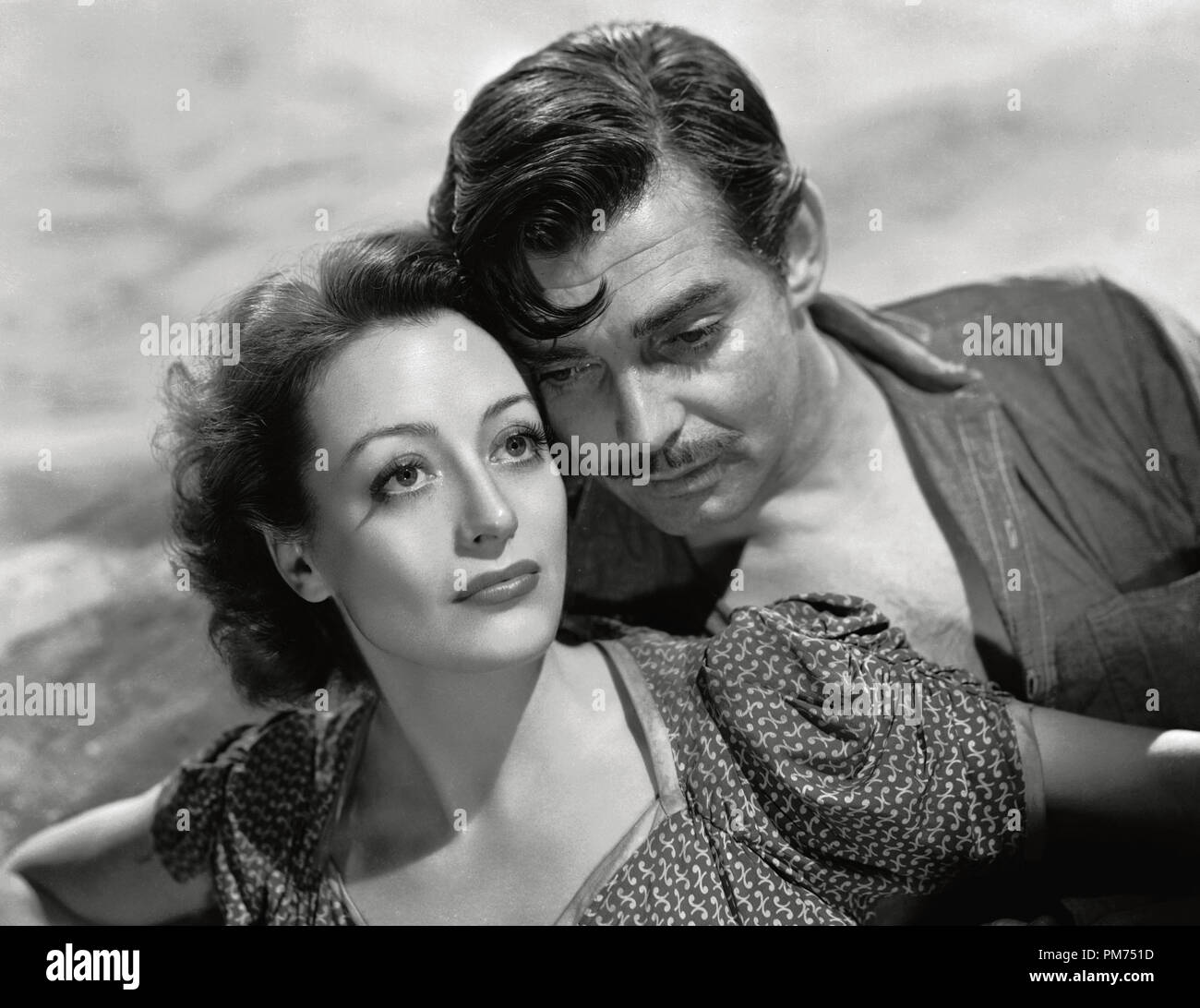 "Clark Gable and Joan Crawford, ""Strange Cargo"" 1940 MGM File Reference # 30928 275THA Stock Photo"