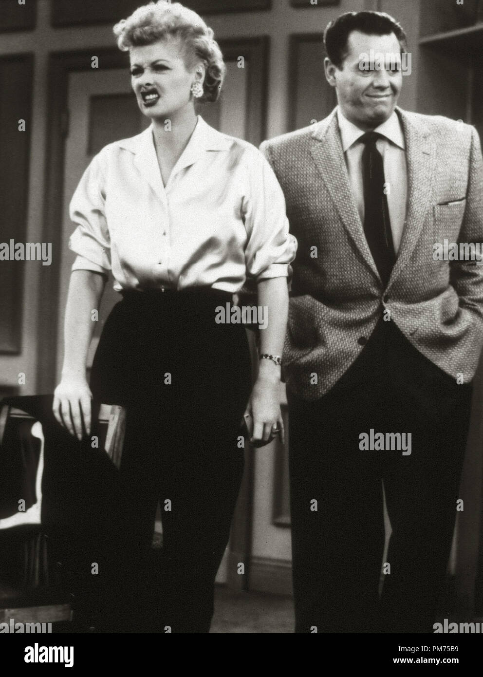 5275d729 Lucille Ball, Desi Arnaz, 'I Love Lucy' circa 1955 Desilu File Reference