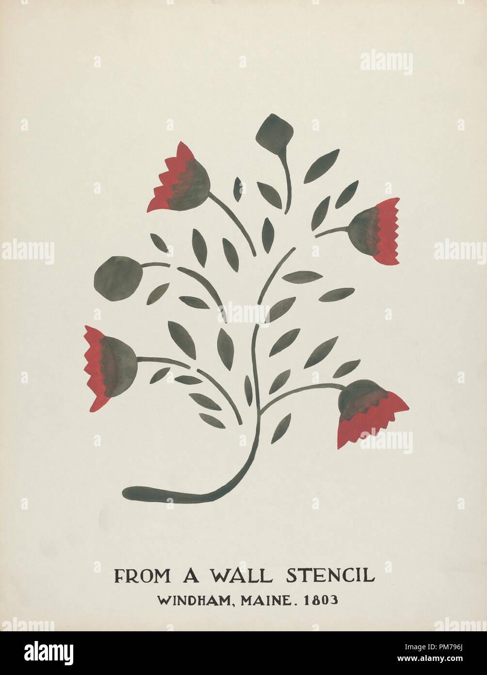 Design from Windham, Maine 1803: From Proposed Portfolio