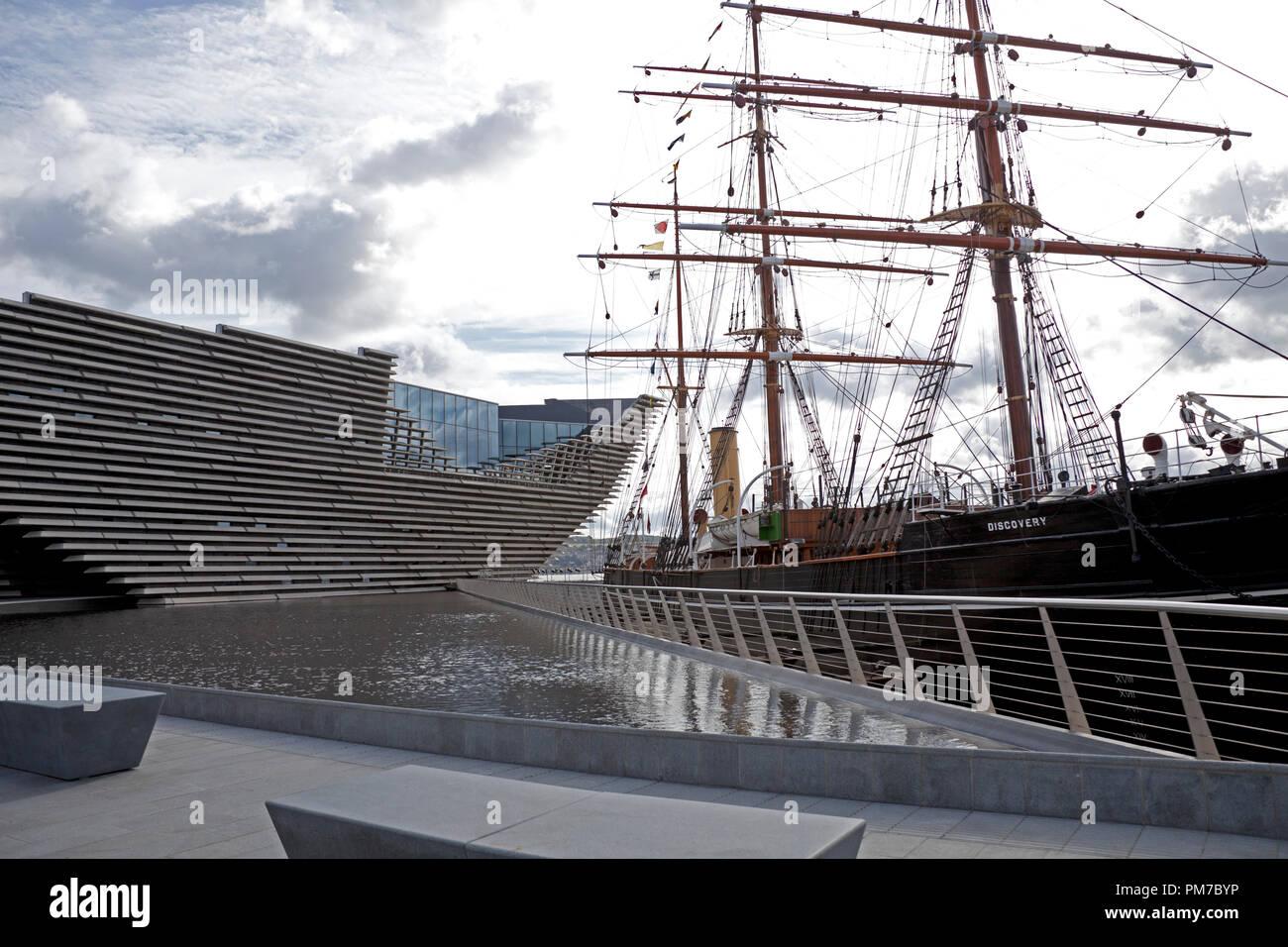 V&A, design museum, Dundee, Scotland, UK - Stock Image