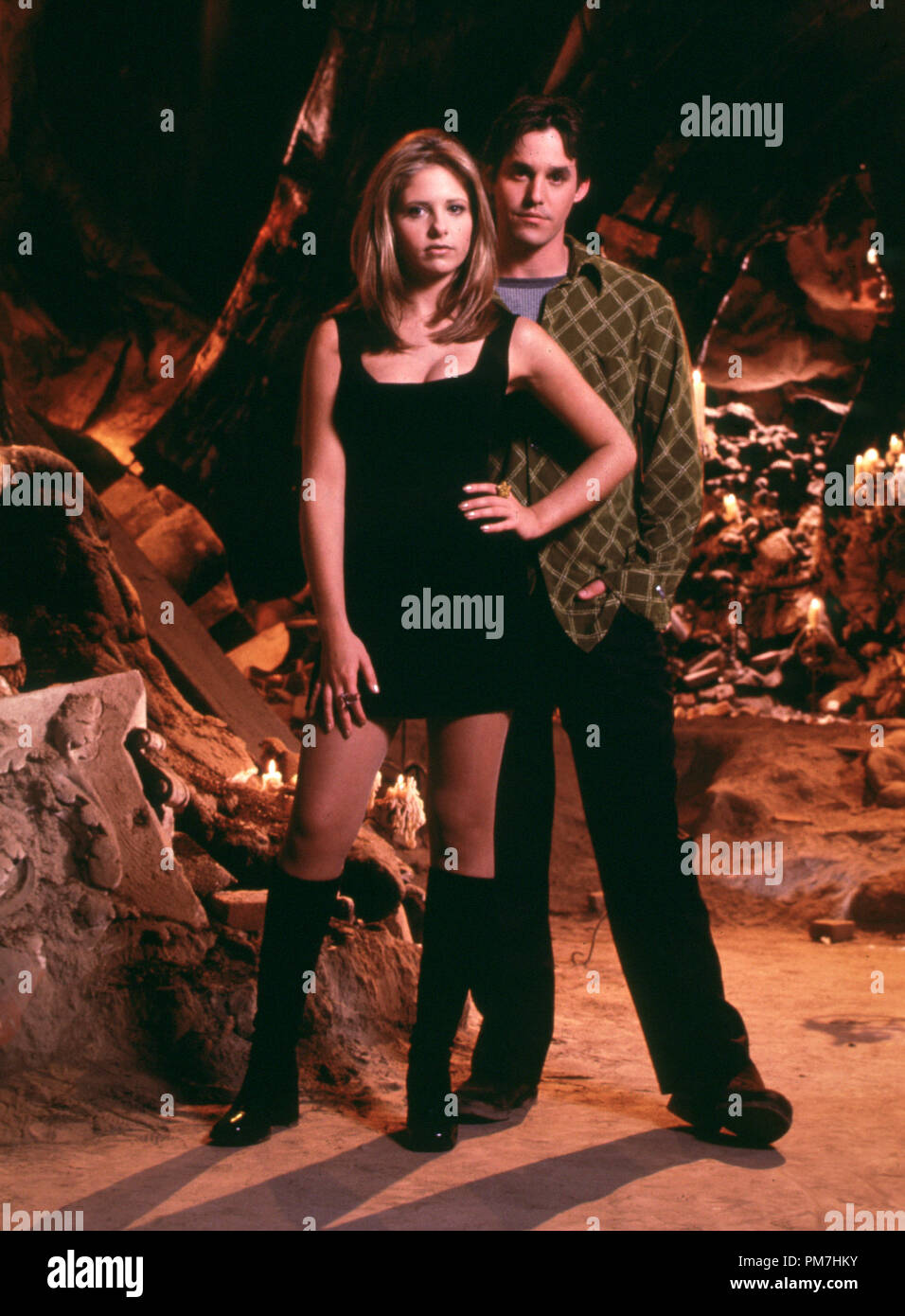 Film Still From Buffy The Vampire Slayer Sarah Michelle Gellar