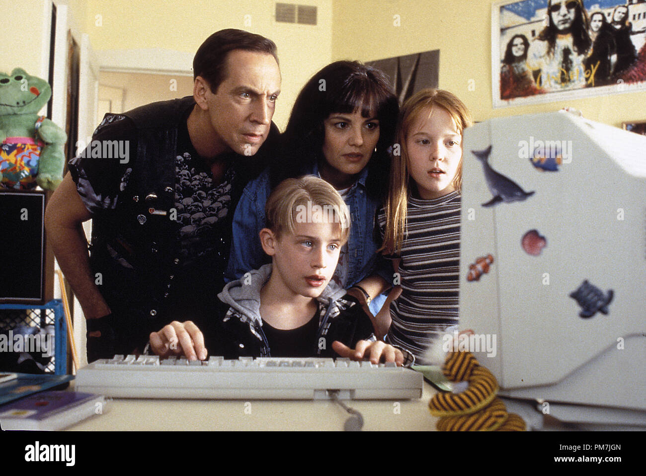 Film Still From Richie Rich Macaulay Culkin Jonathan Hyde