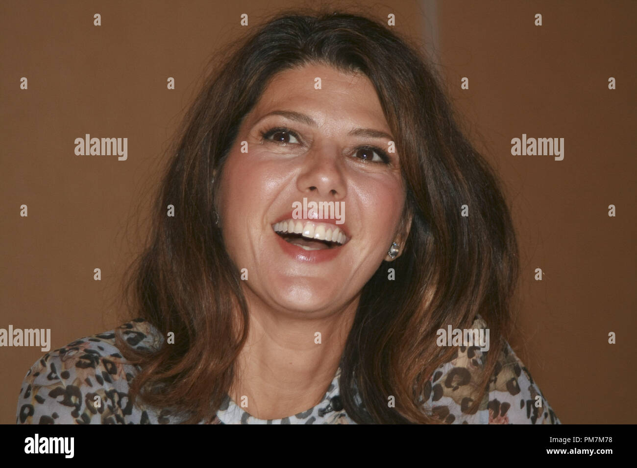 Marisa Tomei 'The Ides of March'  Portrait Session, September 26, 2011.  Reproduction by American tabloids is absolutely forbidden. File Reference # 31175_039JRC  For Editorial Use Only -  All Rights Reserved - Stock Image