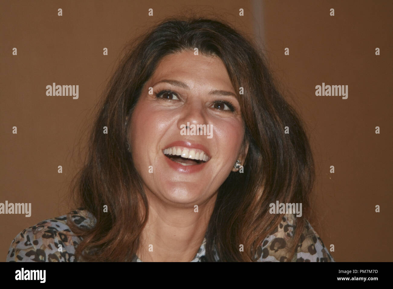 """Marisa Tomei """"The Ides of March""""  Portrait Session, September 26, 2011.  Reproduction by American tabloids is absolutely forbidden. File Reference # 31175 040JRC  For Editorial Use Only -  All Rights Reserved Stock Photo"""