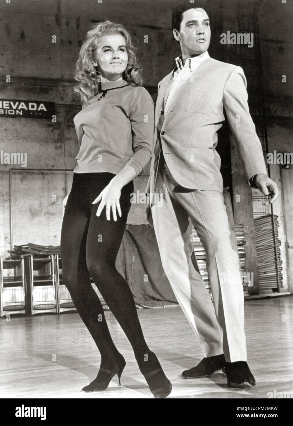 Ann-Margret and Elvis Presley, 'Viva Las Vegas' 1964 File Reference # 31202_389THA - Stock Image