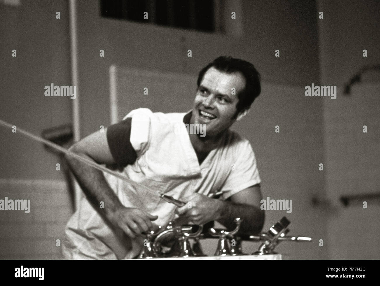 Jack Nicholson, 'One Flew Over the Cuckoo's Nest' 1975 UA  File Reference # 31202_636THA - Stock Image