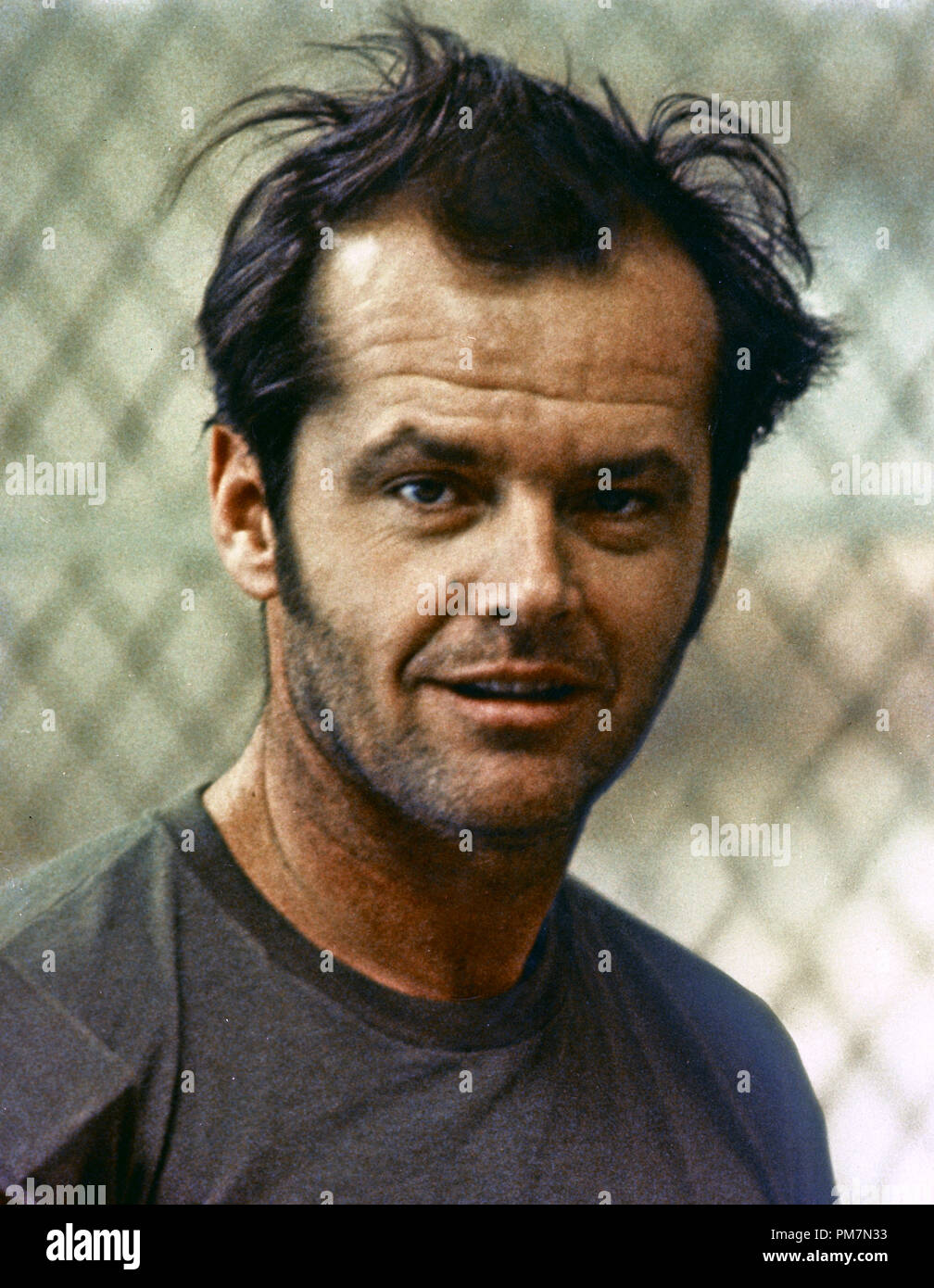 Jack Nicholson, 'One Flew Over the Cuckoo's Nest' 1975 UA File Reference # 31202_651THA - Stock Image