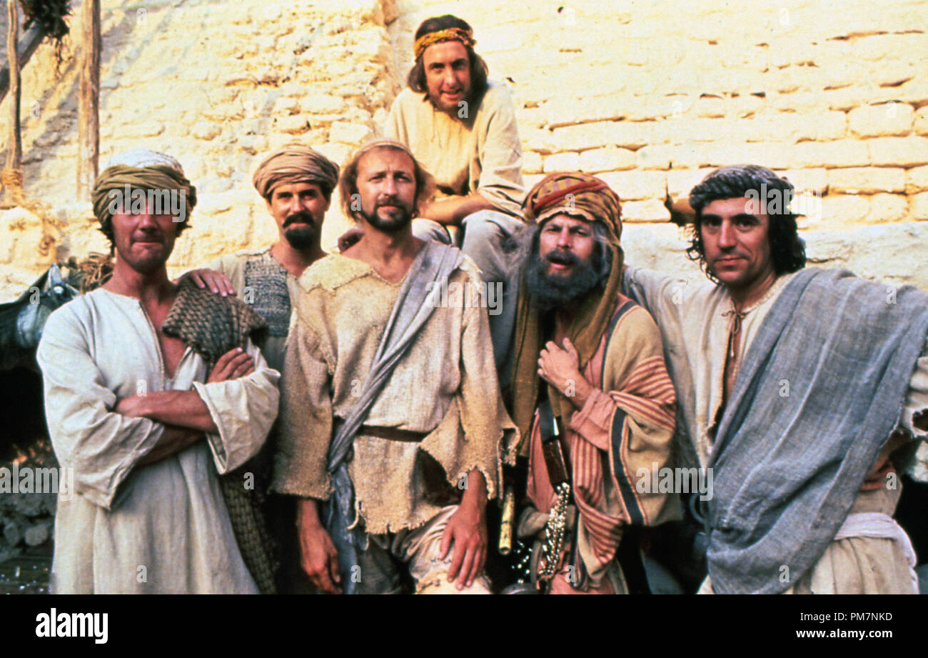 Film Stills from 'Monty Python's Life of Brian' John Cleese, Eric Idle 1979 HandMade Films    File Reference # 31202_983THA - Stock Image