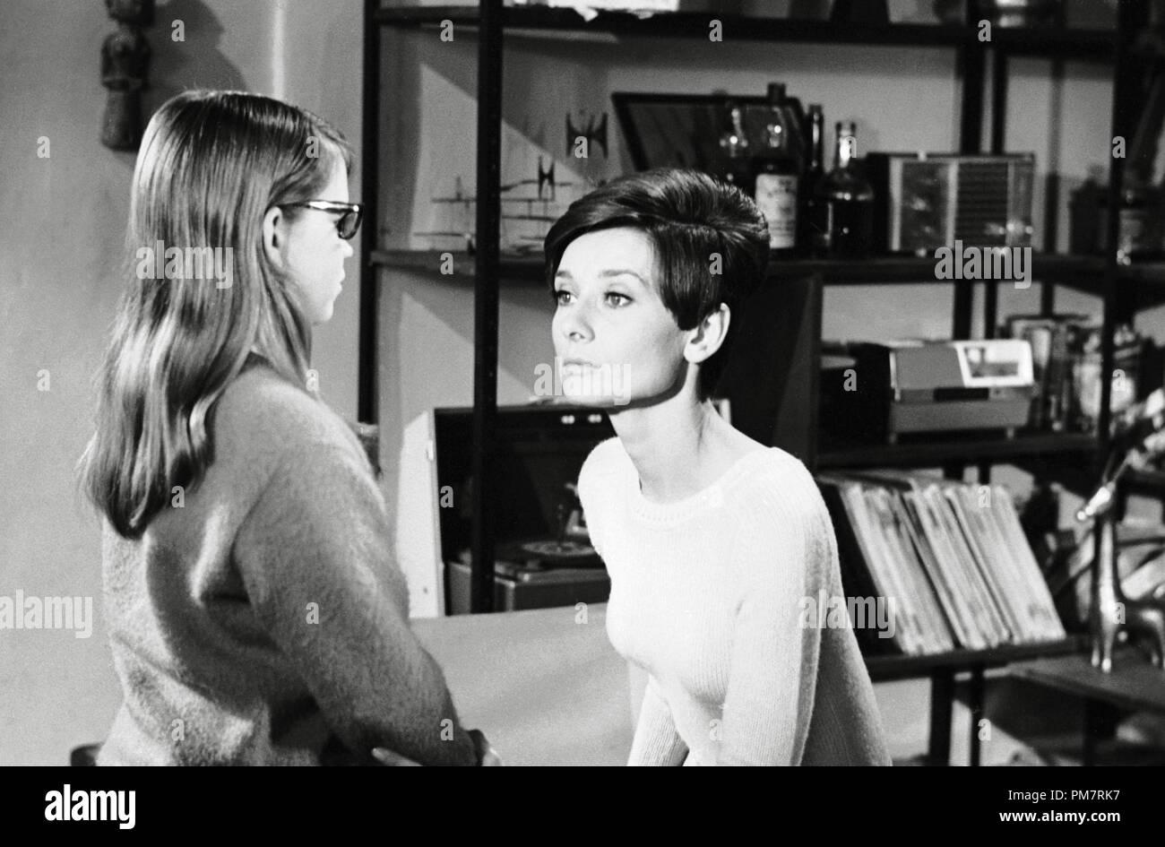 Audrey Hepburn, 'Wait Until Dark' 1967 Warner File Reference # 31386_396THA - Stock Image