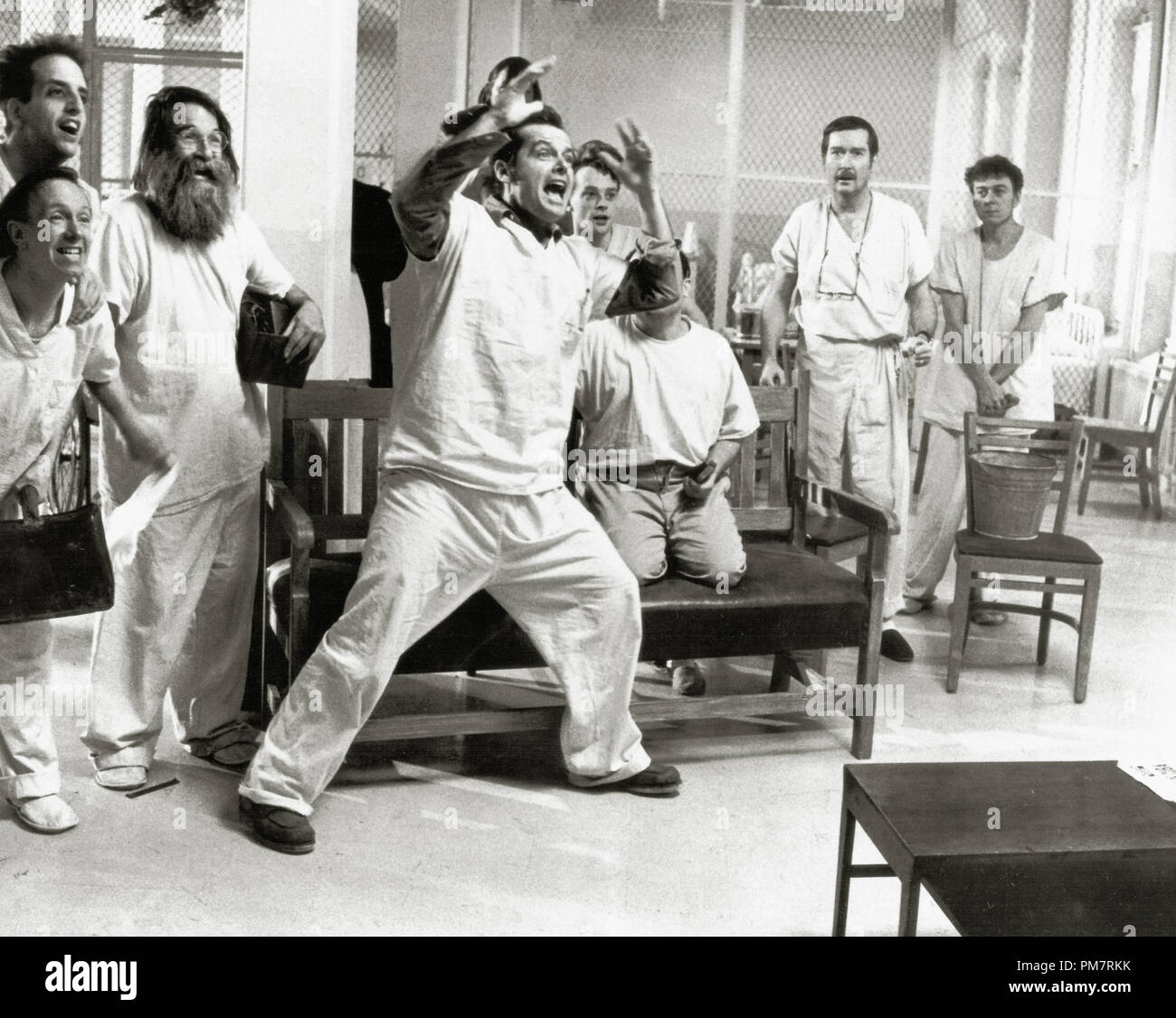 Jack Nicholson, 'One Flew Over the Cuckoo's Nest' 1975 UA  File Reference # 31386_402 - Stock Image