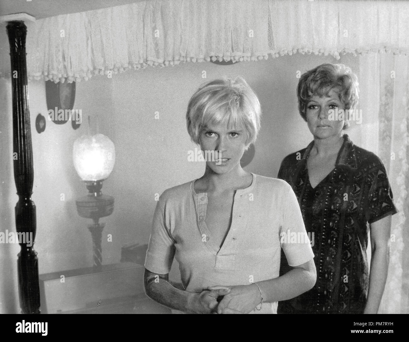 Mimsy Farmer and Rita Hayworth, 'Road to Salina' 1970  File Reference # 31386_486 - Stock Image