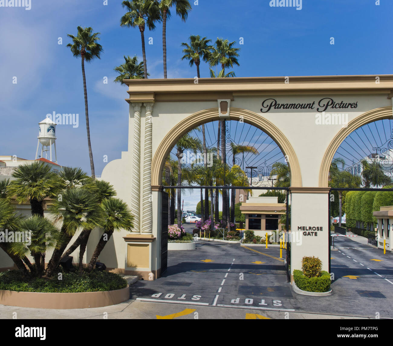 Paramount Pictures Studio, Hollywood 2011. File Reference # 31386_765THA - Stock Image
