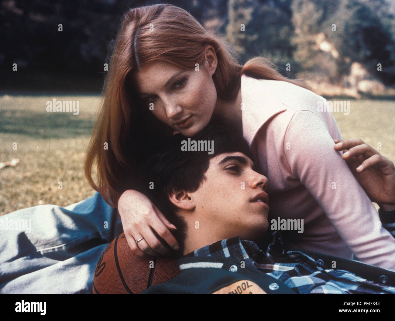 """Studio Publicity Still from """"One on One"""" Robby Benson, Annette O'Toole 1977 File Reference # 31537_571THA Stock Photo"""