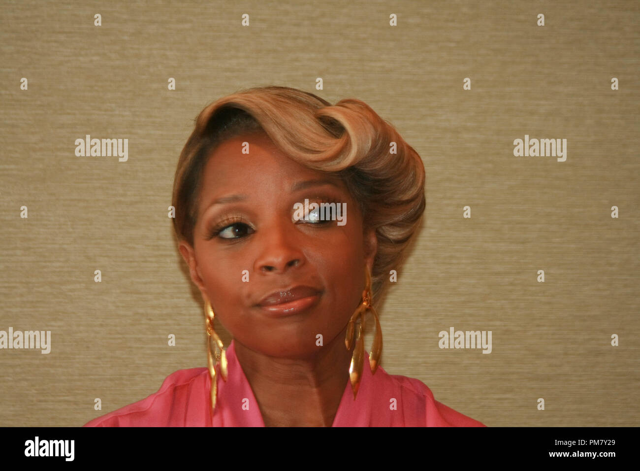 Mary J. Blige 'Rock of Ages'  Portrait Session, June 8, 2012.  Reproduction by American tabloids is absolutely forbidden. File Reference # 31545_065JRC  For Editorial Use Only -  All Rights Reserved - Stock Image