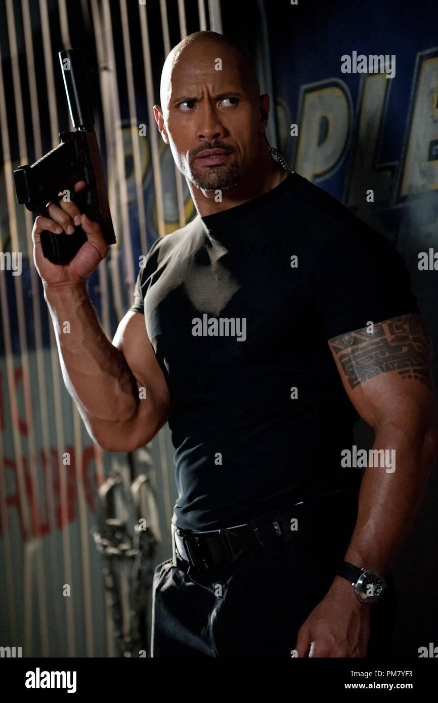 Dwayne Johnson star as Roadblock in Paramount Pictures' G.I. Joe: Retaliation. - Stock Image