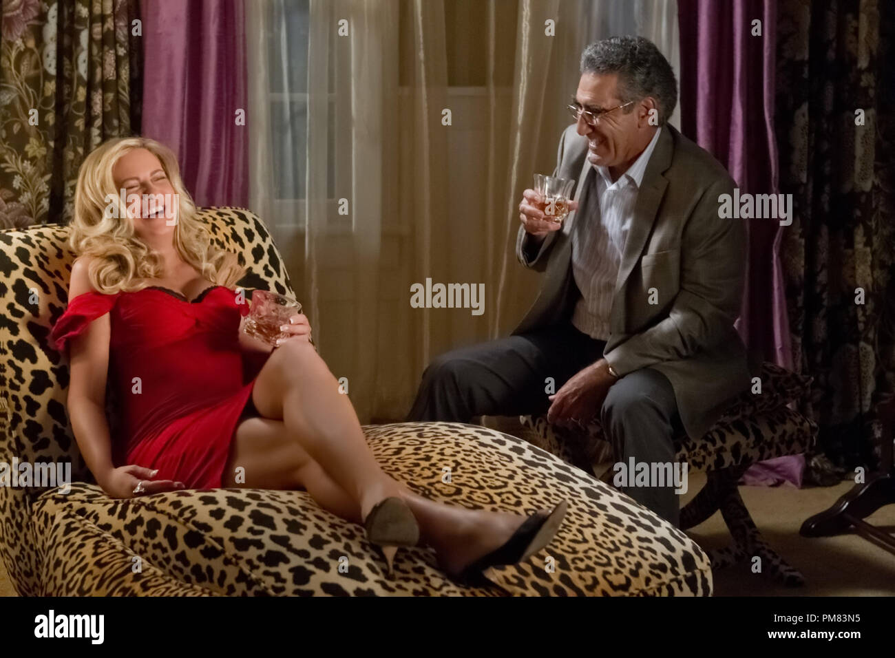 "Stifler's Mom (JENNIFER COOLIDGE) and Jim's Dad (EUGENE LEVY) finally meet in ""American Reunion"".  In the comedy, all the ""American Pie"" characters we met a little more than a decade ago return to East Great Falls for their high-school reunion. Stock Photo"