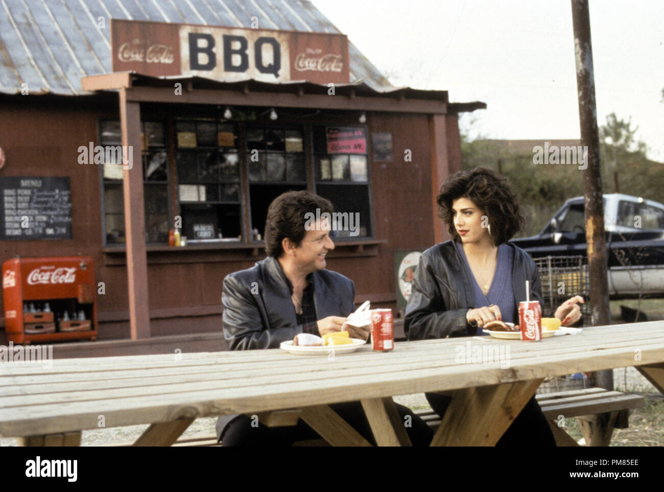 Film still or Publicity still from 'My Cousin Vinny' Joe Pesci, Marisa Tomei © 1992 20th Century Fox Photo Credit: Ben Glass All Rights Reserved   File Reference # 31487_161THA  For Editorial Use Only - Stock Image