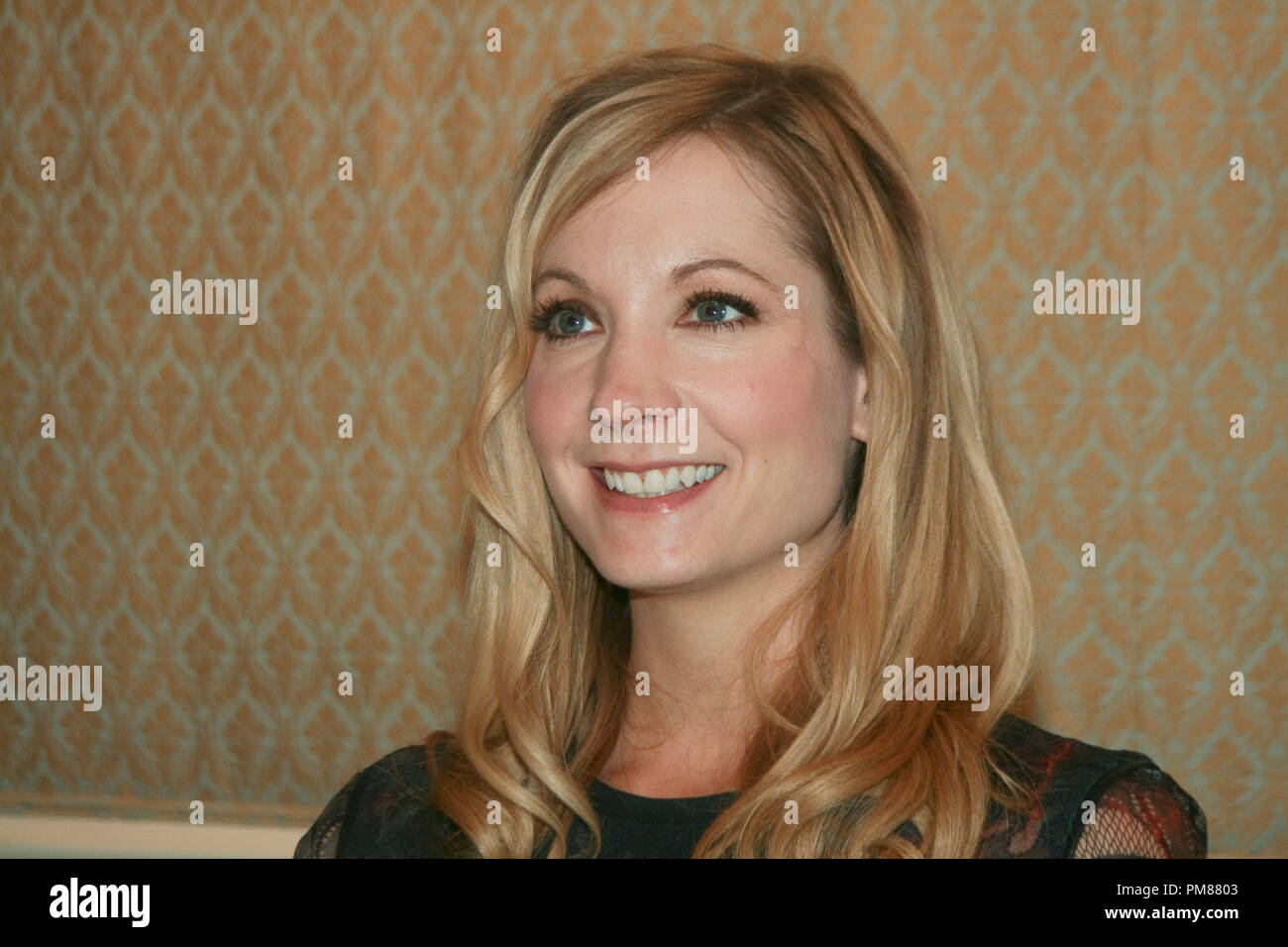 Joanne Froggatt   'Downton Abbey'  Portrait Session, July 22, 2012.  Reproduction by American tabloids is absolutely forbidden. File Reference # 31610_030JRC  For Editorial Use Only -  All Rights Reserved - Stock Image