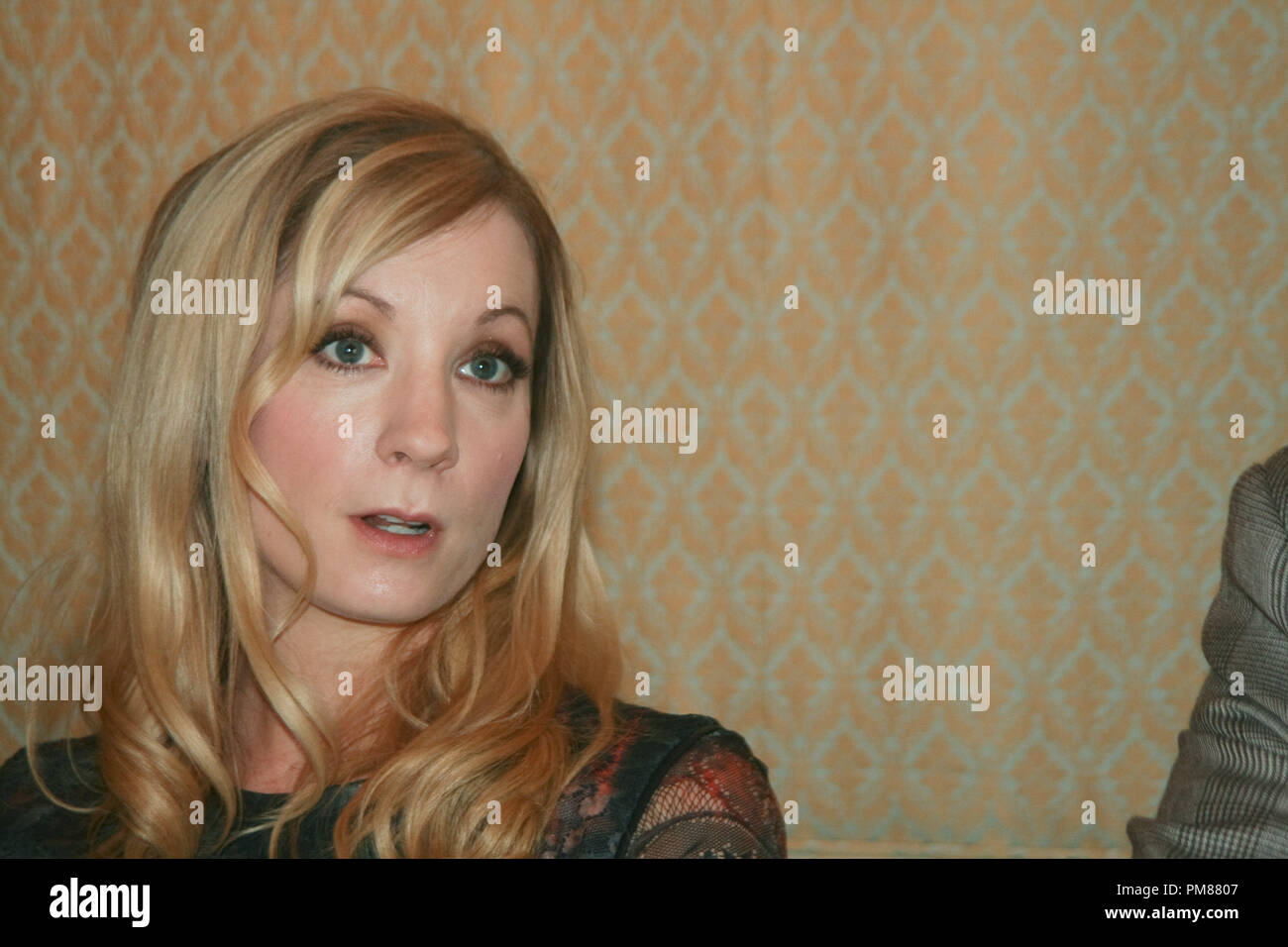 Joanne Froggatt   'Downton Abbey'  Portrait Session, July 22, 2012.  Reproduction by American tabloids is absolutely forbidden. File Reference # 31610_033JRC  For Editorial Use Only -  All Rights Reserved - Stock Image