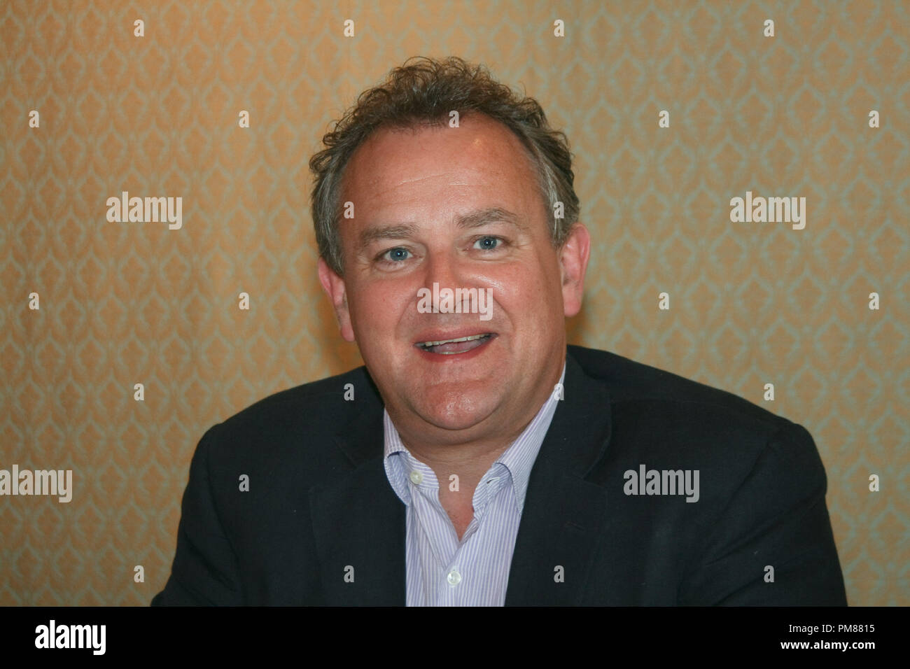 Hugh Bonneville   'Downton Abbey'  Portrait Session, July 22, 2012.  Reproduction by American tabloids is absolutely forbidden. File Reference # 31610_056JRC  For Editorial Use Only -  All Rights Reserved - Stock Image