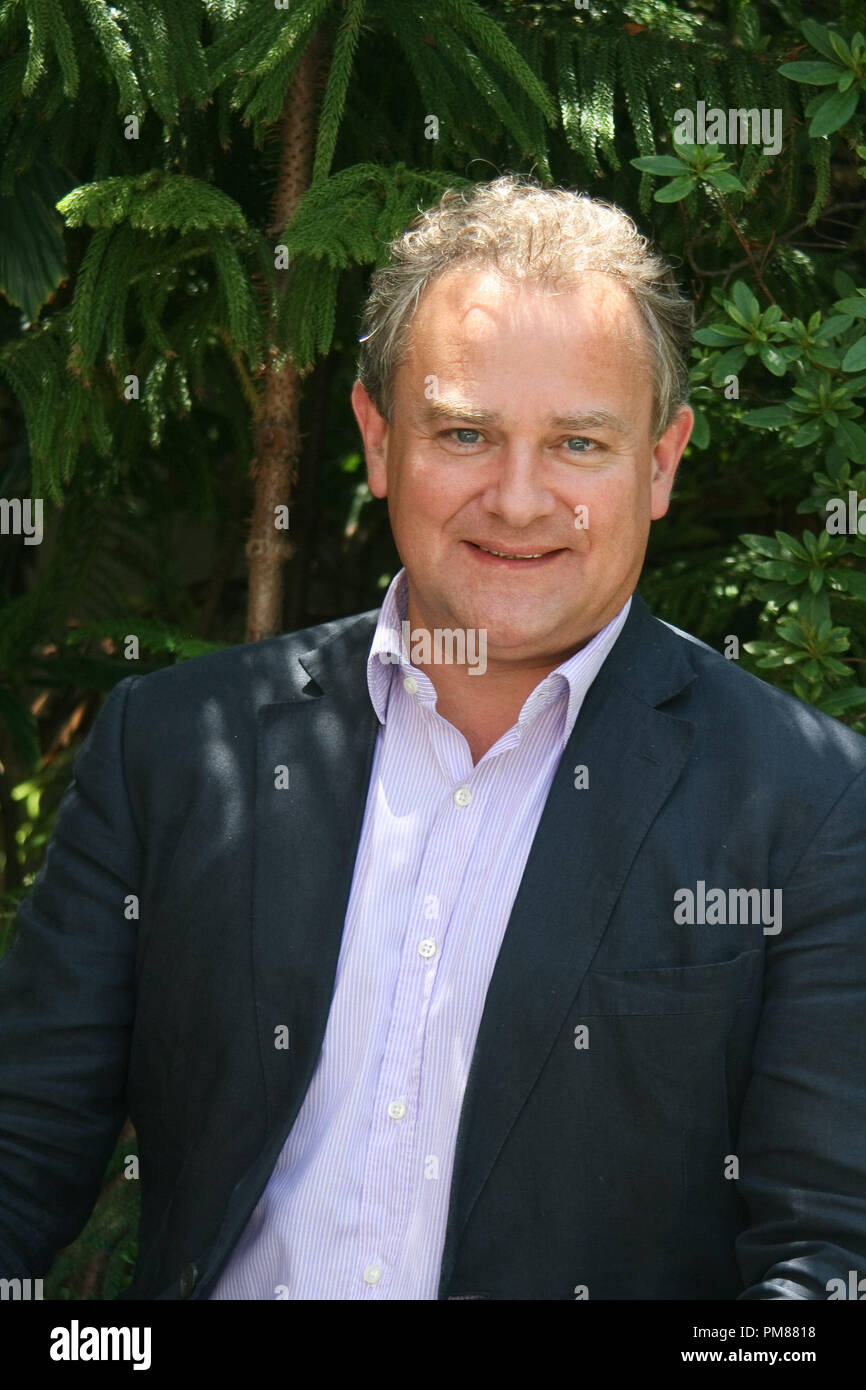 Hugh Bonneville   'Downton Abbey'  Portrait Session, July 22, 2012.  Reproduction by American tabloids is absolutely forbidden. File Reference # 31610_059JRC  For Editorial Use Only -  All Rights Reserved - Stock Image