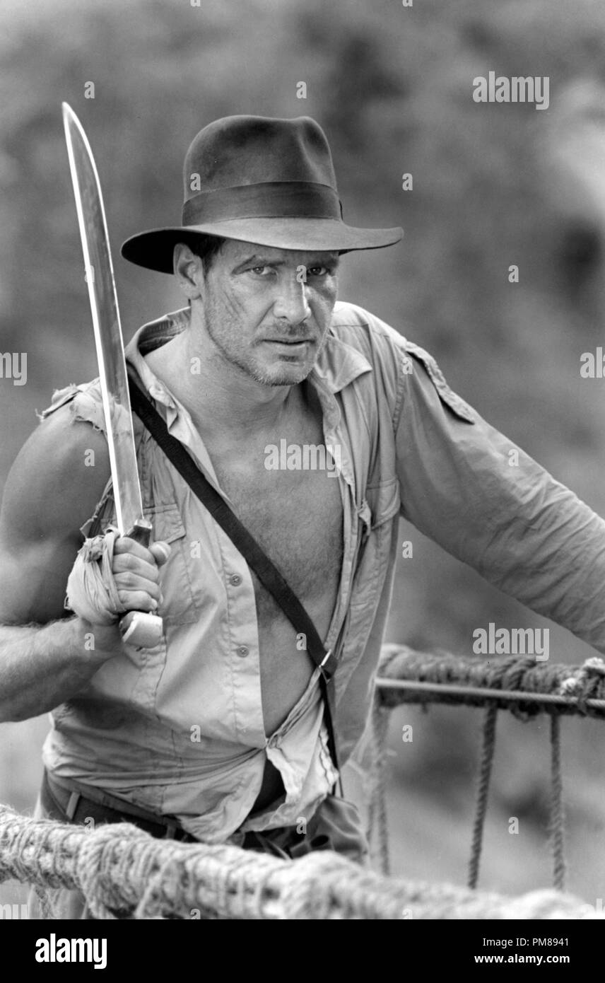 4e3497dd9d673 Studio Publicity Still from  Indiana Jones and the Temple of Doom  Harrison  Ford ©