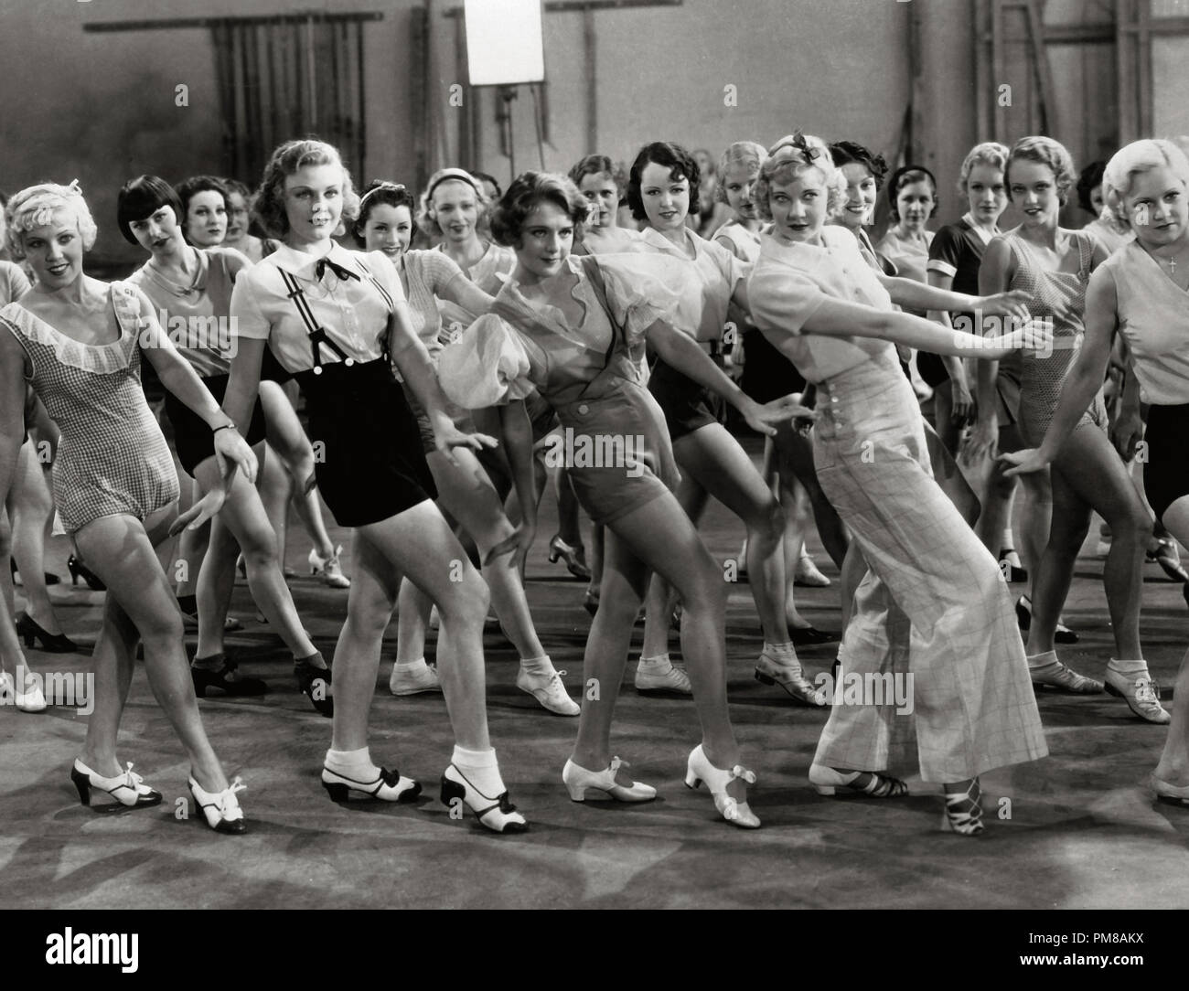 Ruby Keeler ,'42nd Street' 1933 Warner  File Reference # 31780_816 - Stock Image