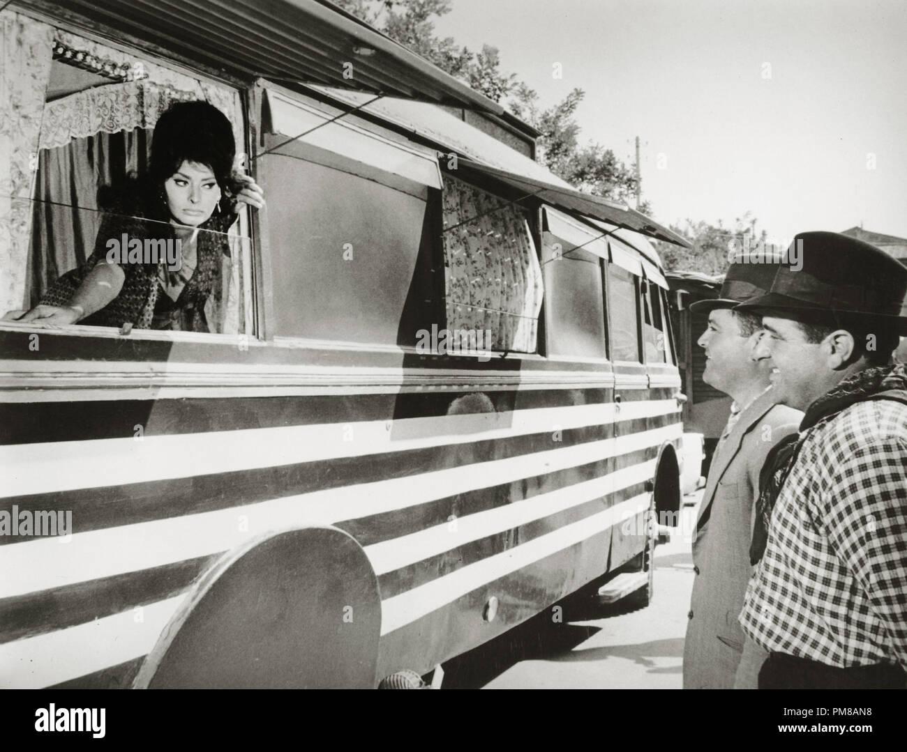 Sophia Loren, 'Boccaccio '70' 1962 File Reference # 31780_848 - Stock Image