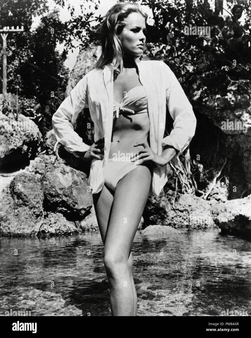 "Studio Publicity Still: ""Dr. No""  Ursula Andress  1962 UA File Reference # 31781 038 Stock Photo"