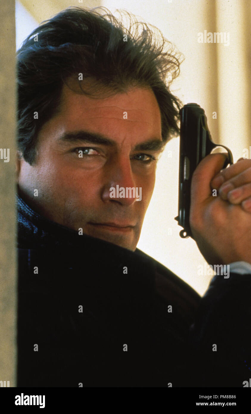 Studio Publicity Still: 'The Living Daylights'  Timothy Dalton  1987 - Stock Image