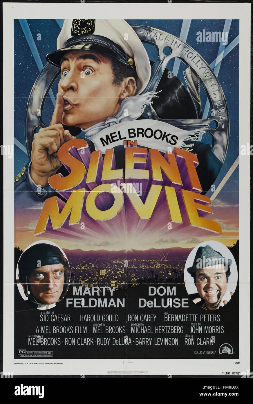 Studio Publicity Silent Movie 1976 20th Century Fox Poster Mel