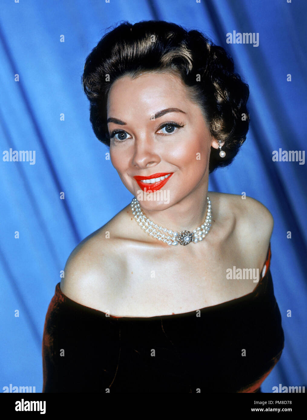 Kathryn Grayson, circa 1957     File Reference # 31955_345THA - Stock Image